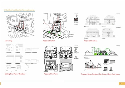 Create a Set of Planning Application Drawings