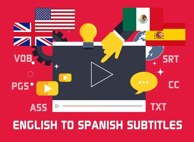 Translate English to Spanish subtitles of your video (10 min)