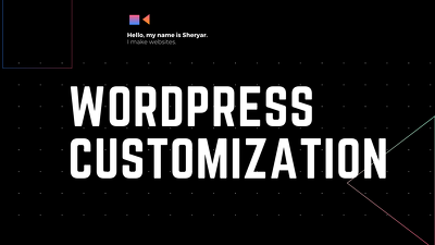 Do wordpress customization