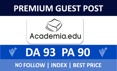 Premium guest post on Academia.edu