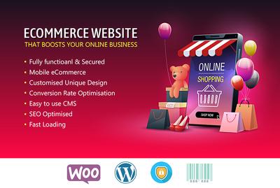 custom Designed Fully Functional eCommerce Website Development