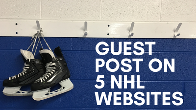 Guest Post On 5 NHL Websites  - DA 40 plus  - High Traffic