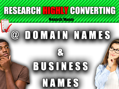 Search brainstorm 10 business or domain names for you