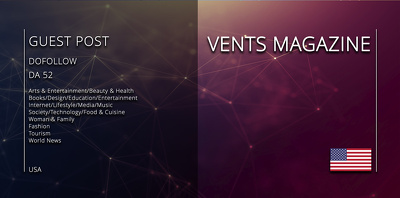 Get your article on Vents Magazine (ventsmagazine.com)