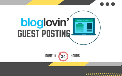 Publish 10 SEO articles with dofollow links on bloglovin