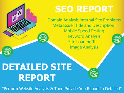 Create seo audit of your website with detailed site report