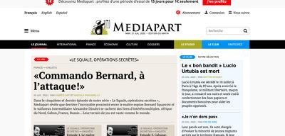 Guest post on French News Mediapart Blog.mediapart.fr DA 86