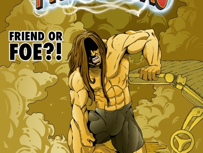 Illustrate your colour comic book, webtoon or manga (per page)