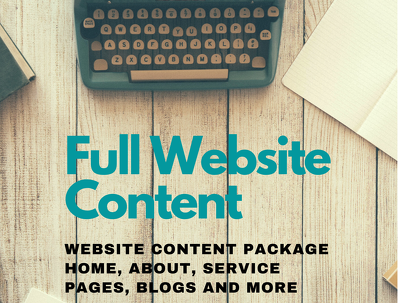 Entire Website Content (5 pages)