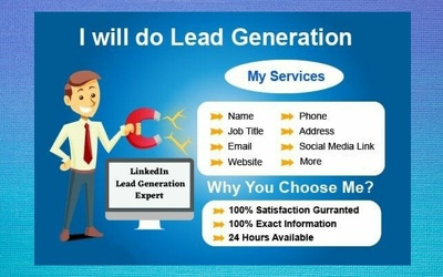 Provide 100 Valid Targeted Leads from LinkedIn for Your Business