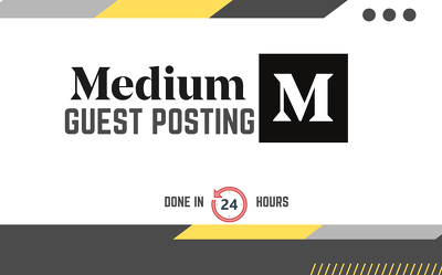 Publish 10 SEO articles with dofollow links on Medium
