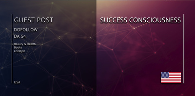 Get your article on - SUCCESS CONSCIOUSNESS