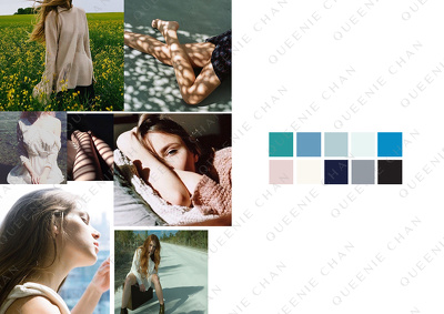 Create a visual MOODBOARD for your fashion/ lifestyle project