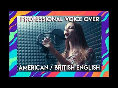 Provide you American English Female Voice Over up to 250 words