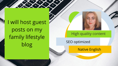 Host guest posts on my blog