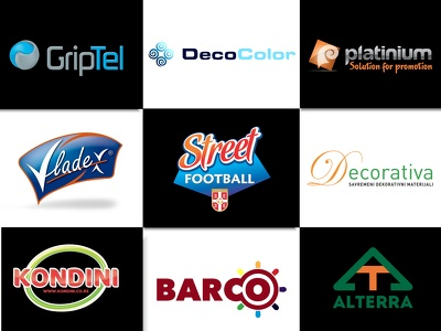 Design top quality logo for your brand shop or company for $15