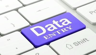 Do  1 hour of Data Entry work
