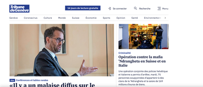 Write & post on Swiss news site TDG CH blogs.tdg.ch DA84