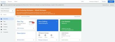 Make Google Tag Manager audit
