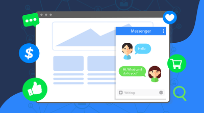 integrate facebook messenger with your website