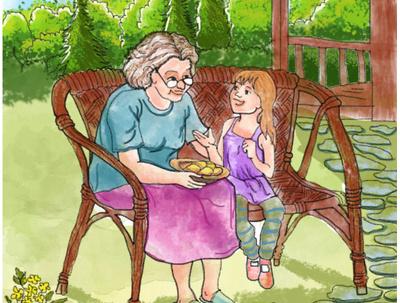 Watercolour children Book illustration