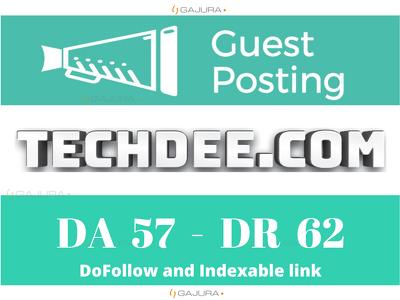 Publish Guest Post on Techdee - Techdee.com DA 60 Dofollow Link