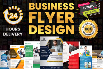 Design a outstanding business flyer for you.