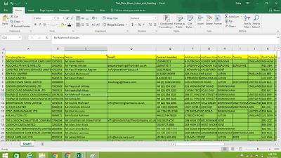 Build Fresh contact Database PER 1k restaurant,Pub,hotel etc