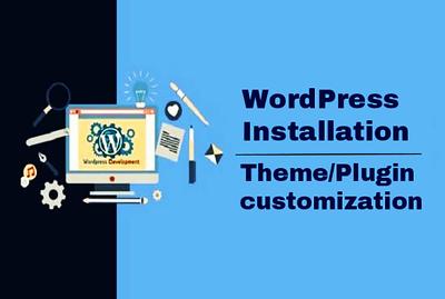 Wordpress Installation | Wordpress Theme, Plugin Customization