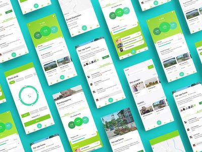 Make a modern responsive design for your website / landing page