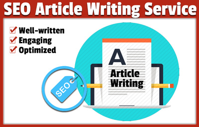 Write SEO optimized articles and blogs for you