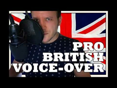 Deliver British English Male Voice Over up to 250 words