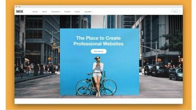 Create your full wix website
