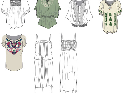 Create digital patterns for clothing with physical sample