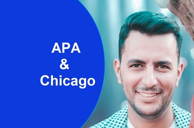 Proofread and format APA or Chicago references and manuscripts