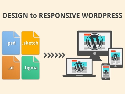 DESIGN to responsive WORDPRESS