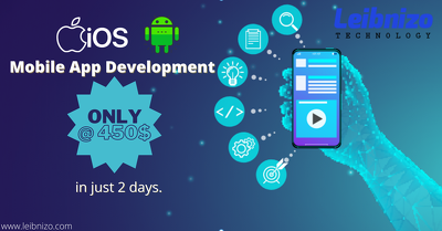 Develop a mobile application for you in just 2 days