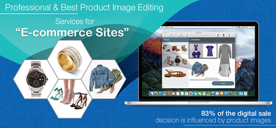 Do 50 professional product image editing, optimised for web.