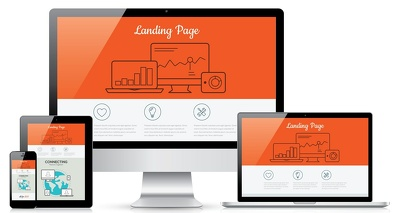 LANDING PAGE design to RESPONSIVE HTML/CSS
