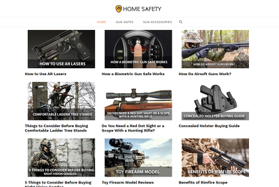 Guest post on gun safety, firearms, hunting, outdoors blog