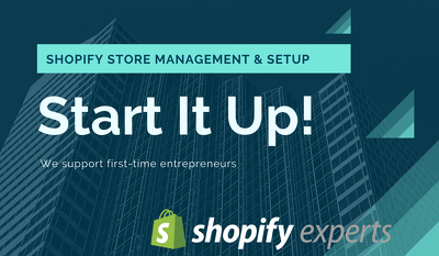 Setup and launch your Shopify store