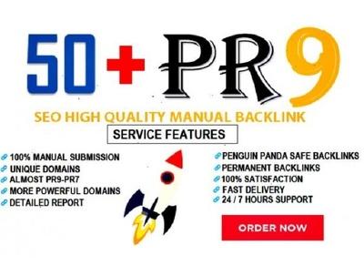 Create 50 USA powerful pr9 profile seo backlinks,linkbuilding ma