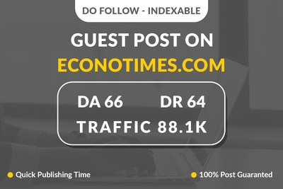 Provide Guest Post on Econotimes