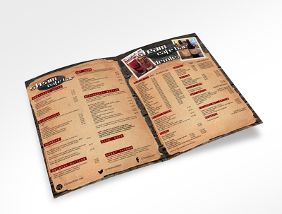 Create a menu design