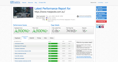 Site Speed Optimisation: Increase Page Speed + GT Metrix Scores
