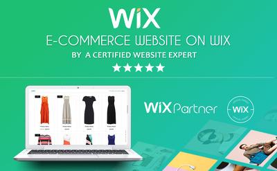 Design WIX E-commerce website