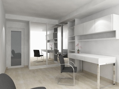 Design your bedroom or home office space