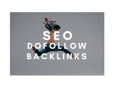 Do 55 dofollow backlinks,seo link building