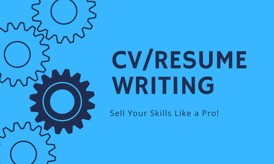 Write and Design your CV, Cover letter
