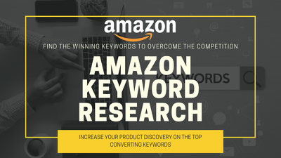 Do a Amazon keyword research for your product